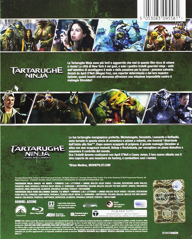 Amazon.com: Tartarughe Ninja / Tartarughe Ninja 2 - Fuori ...