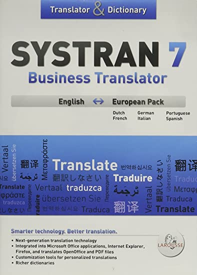 systran 7 business translator gratuit