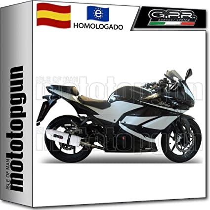 GPR TUBO DE ESCAPE HOMCAT ALBUS CERAMIC NINJA 250 R 2009 09 ...