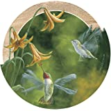 Thirstystone Drink Coaster Set, Ruby-Throated Hummingbirds
