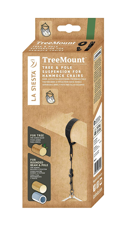 Amazon.com : LA SIESTA TreeMount - Suspension Kit for Hanging Chairs ...