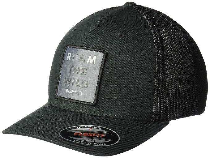 c48f45c5e Columbia Men's Trail Ethos Mesh Hat Baseball Cap: Amazon.co.uk: Clothing