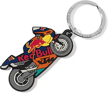 Red Bull Ktm Moto Schlüsselanhänger Mehrfarben Unisex One Size Schlüsselring Red Bull Ktm Factory Racing Original Bekleidung Merchandise Koffer Rucksäcke Taschen