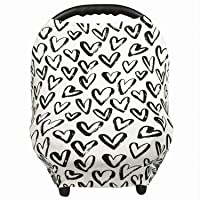 Gufix Infant Car Seat Cover, The Stretchy Nursing Scarf, Car Seat Canopy, Shopping...