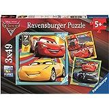 Ravensburger Disney Pixar Cars 3, 3x 49pc Jigsaw Puzzles
