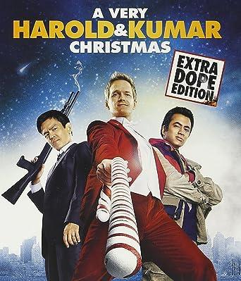 Harold And Kumar Christmas.Amazon Com Very Harold Kumar Christmas A Blu Ray