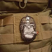 Ape Victory Cigar Tactical Beard Club with VELCRO® BRAND Hook Fastener Patch