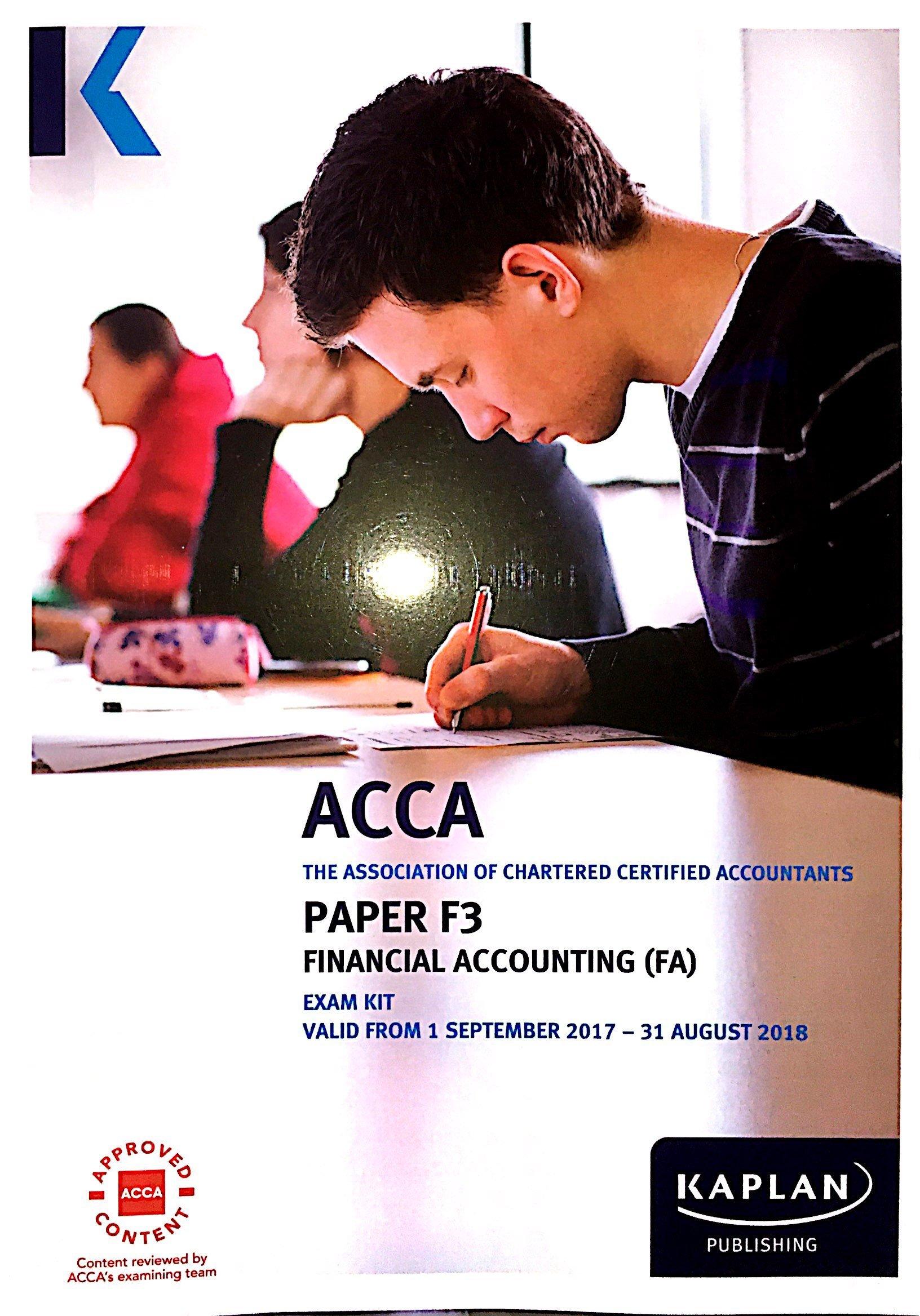 F3 Financial Accounting (INT&UK) - Exam Kit: Amazon co uk