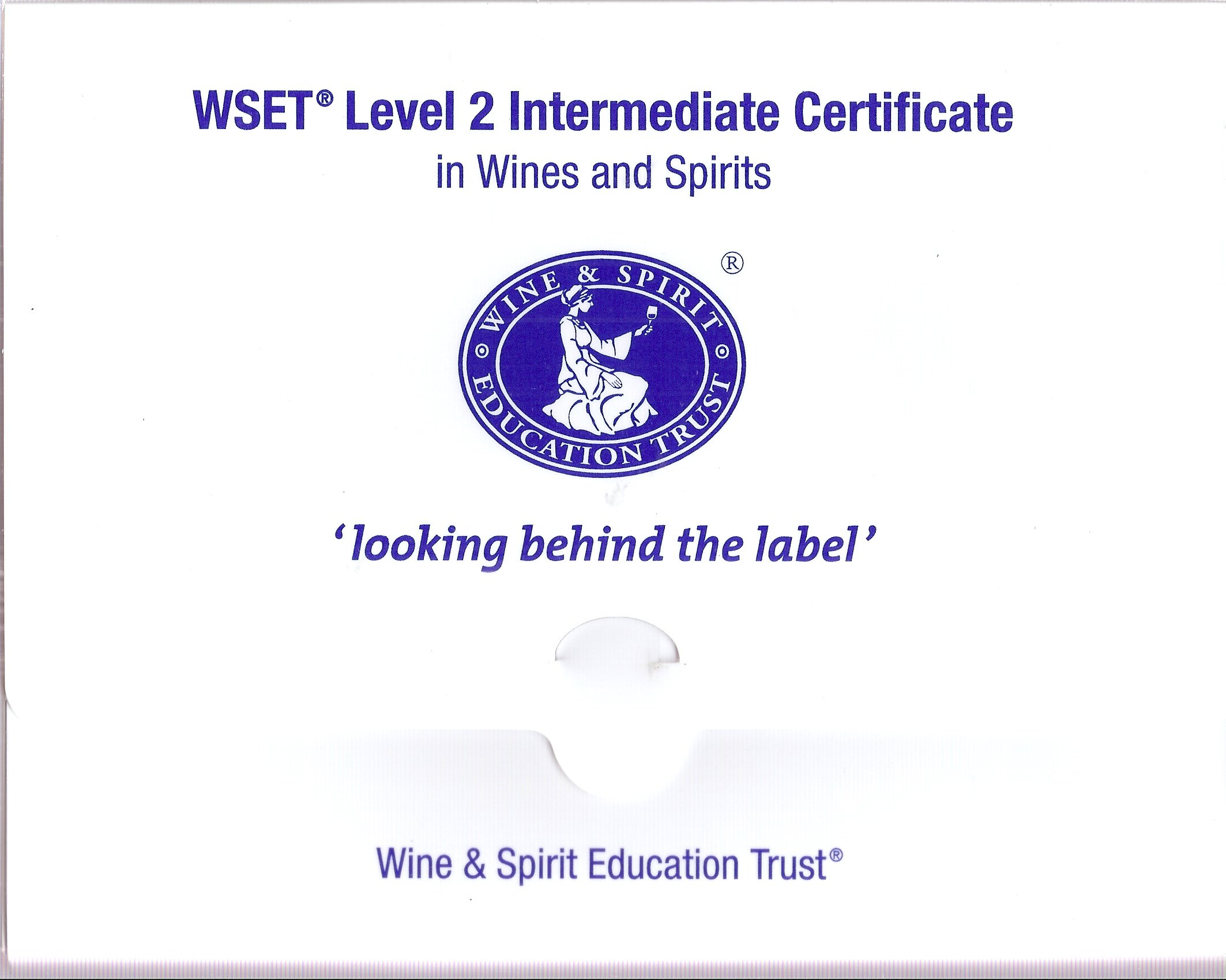 """WSET Level 2 Intermediate Certificate in Wines and Spirits """"Looking Behind  the Label"""" - Boxed Kit: Amazon.com: Books"""