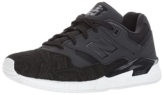 New Balance Scarpe Sneaker Donna Nero W530VAB-SUEDE/TEXILE BLACK PTGV9tBeM