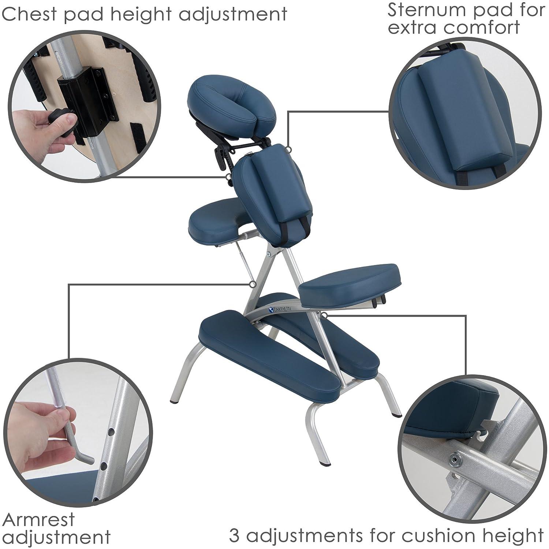 EARTHLITE Vortex Portable Massage Chair Package Portable