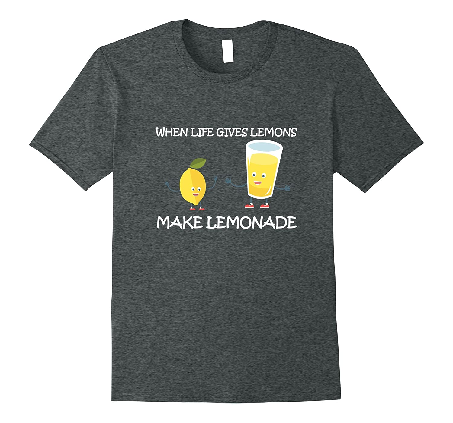 Lemonade Day T-shirt Life Gives Lemons Make Lemonade Kid Tee-Vaci