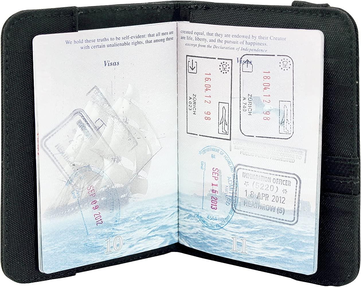 Victorinox Titular del Pasaporte con RFID Protección: Amazon ...
