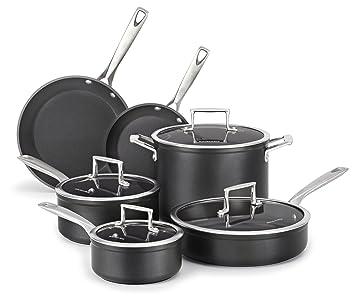 KitchenAid Classic - Batería de cocina antiadherente: Amazon.es: Hogar
