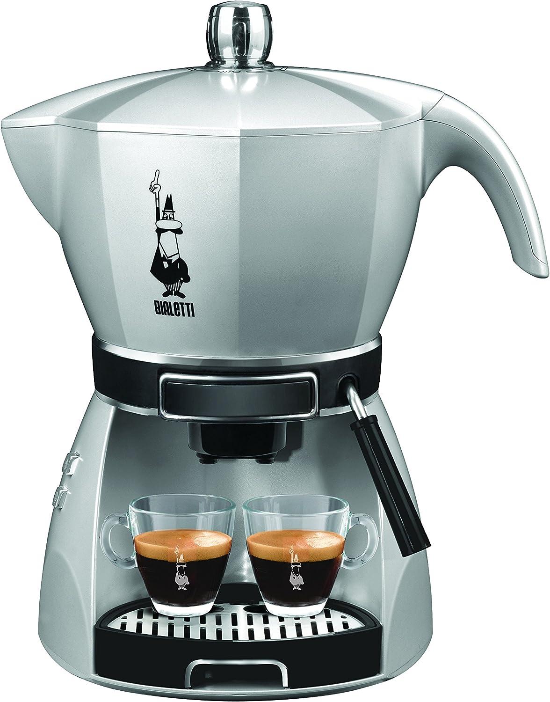 Bialetti 12431002 - Cafetera de espresso manual, 0,8 l, 2 tazas ...