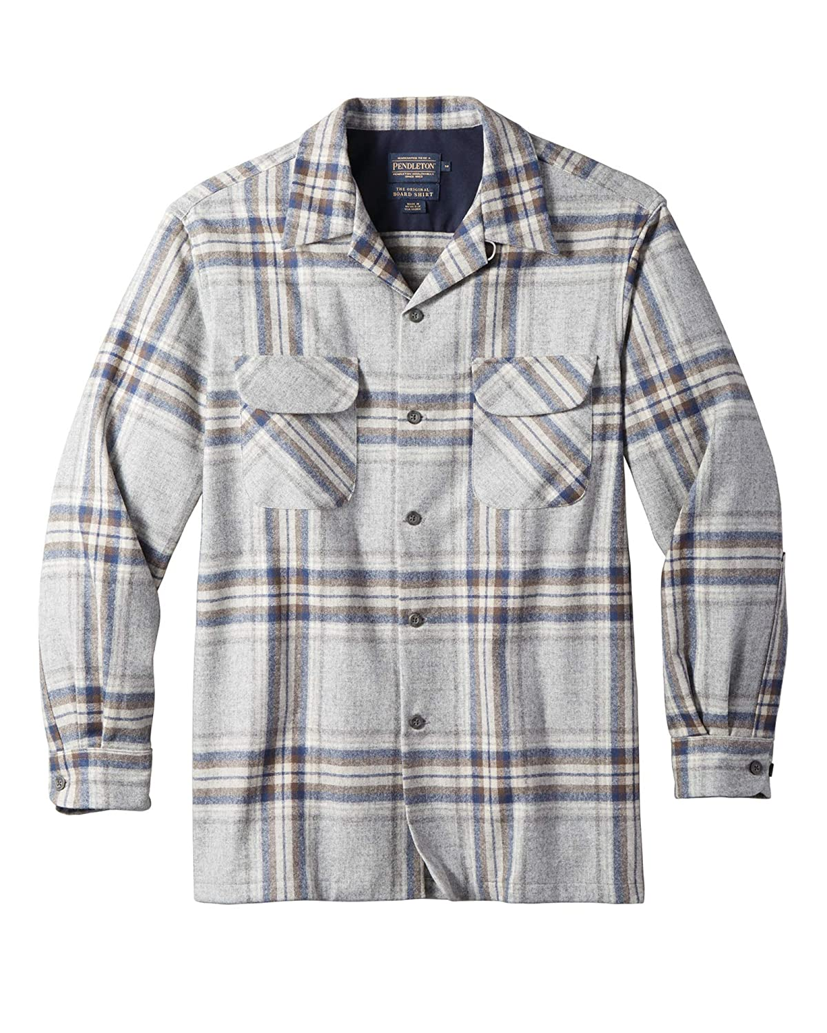 Pendleton Mens Long Sleeve Classic-fit Board Shirt