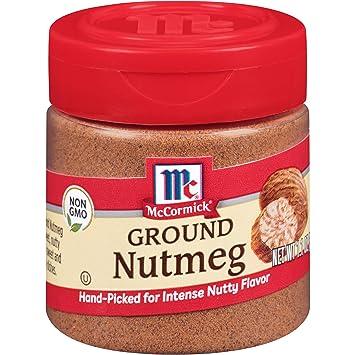 McCormick Ground Nutmeg, 1 1 oz