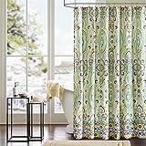 """Intelligent Design ID70-284 Tasia Shower Curtain 72x72"""" green,72x72"""""""
