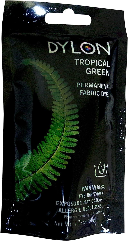 Dritz 87003 Permanent Fabric Dye, 1.75-Ounce, Tropical Green