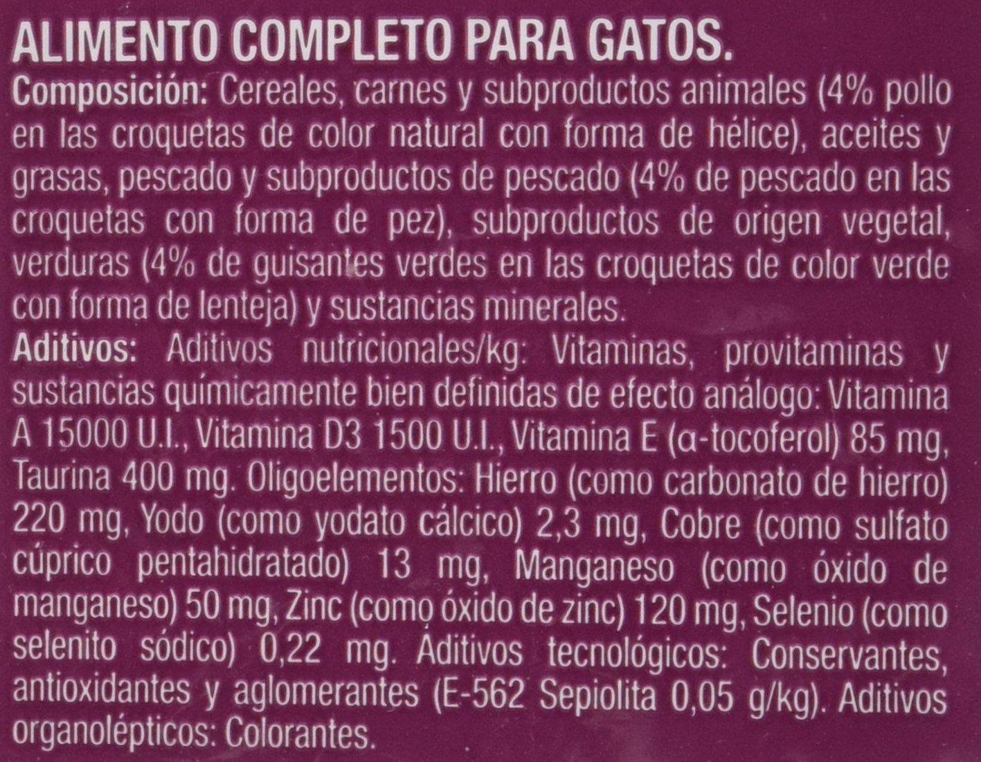 Mic&Friends - Alimento Completo para Gatos con Pollo, Pescado y Verduras - 1.5 Kg: Amazon.es: Productos para mascotas