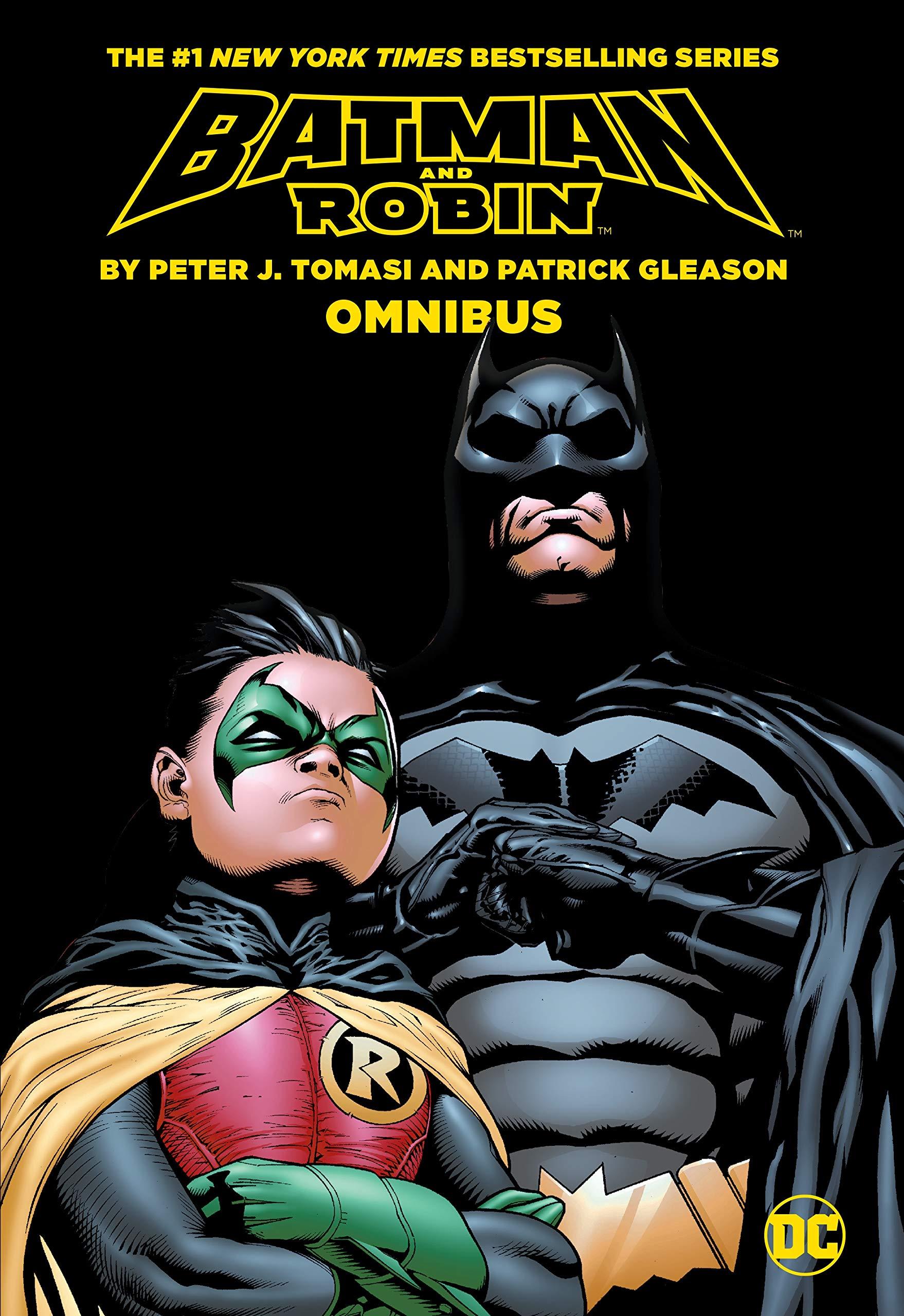 Amazon.com: Batman & Robin by Tomasi & Gleason Omnibus (Batman and ...
