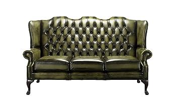 Designer Sofas 4 U Chesterfield Mallory de Espalda Alta sofá ...