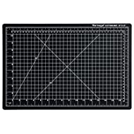 "Dahle Vantage 10671 Self-Healing 5-Layer Cutting Mat Perfect for Crafts and Sewing 12"" x 18"" Black Mat"