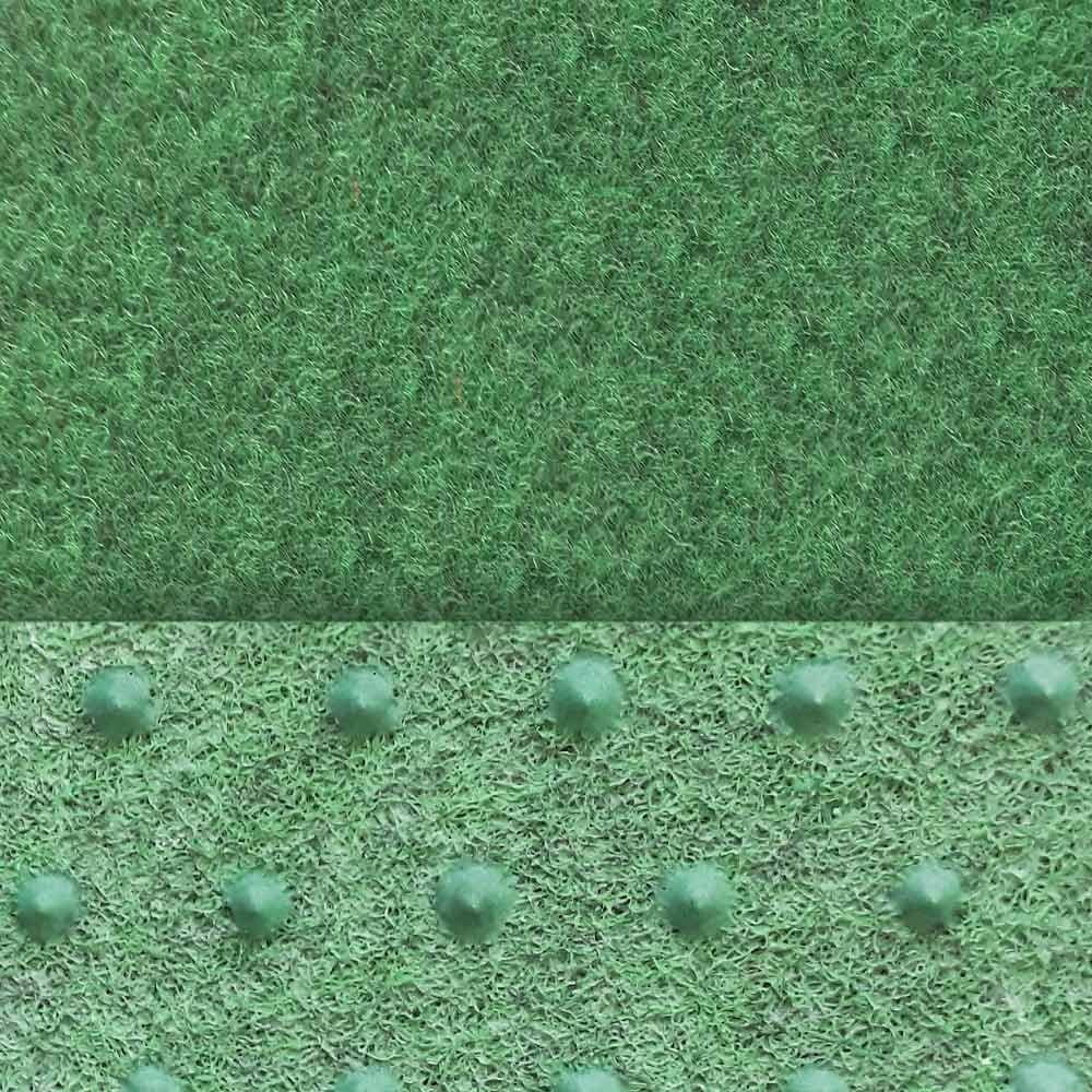 livingfloor/® Kunstrasen Vliesrasen Croma mit Noppen Gr/ün in 1,33 m Breite Gr/ö/ße:8.00x1.33 m L/änge variabel Meterware