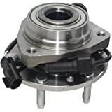 Brand New Front Wheel Hub and Bearing Assembly Ascender, Envoy, Rainer, Trailblazer 6 Lug W/ ABS 513188