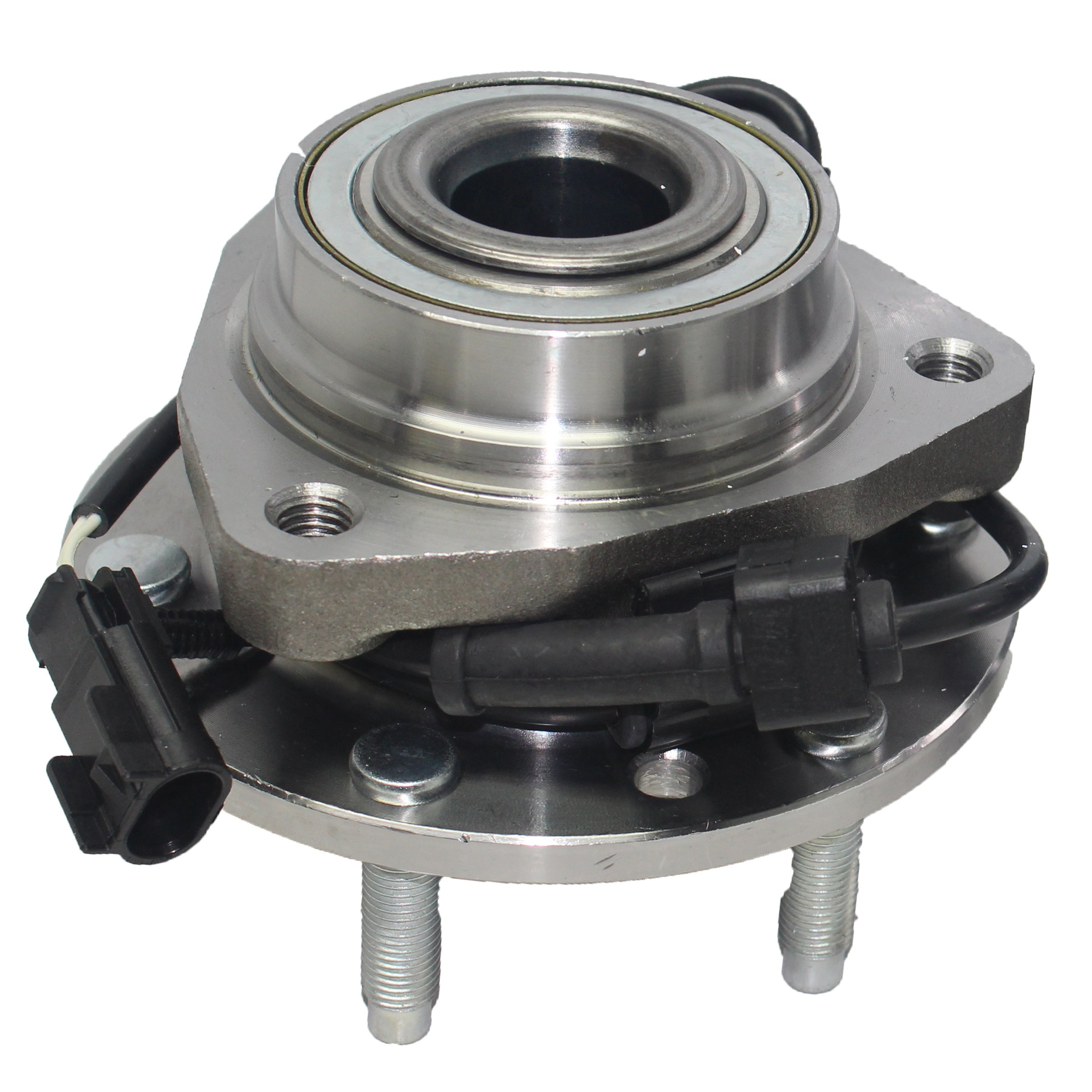 Brand New Front Wheel Bearing and Hub Assembly for Ascender, Envoy, Rainier, Trailblazer 6 Lug W/ABS 513188 by Detroit Axle