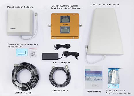 e43a6d0e304ac4 ... himster 4G and 2G Dual Band Cell Phone Signal Booster: Amazon.in:  Electronics ...