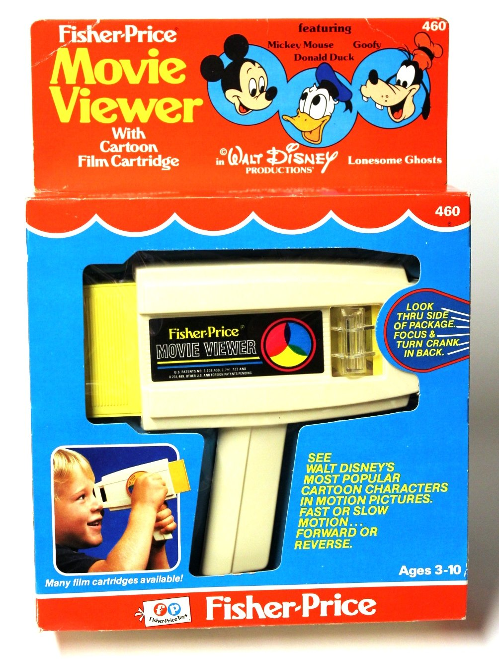 Fisher Price 1973 Movie Viewer