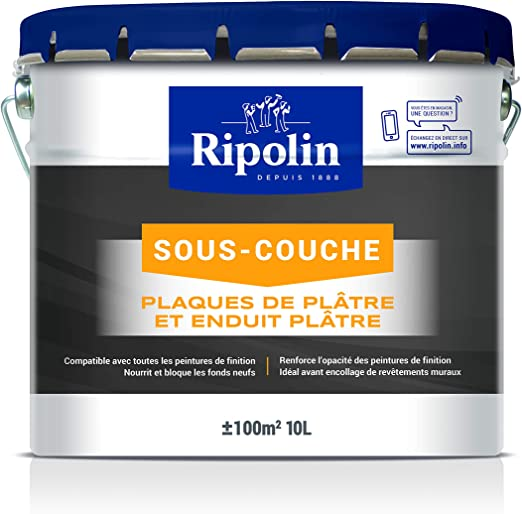 Ripolin Sous Couche Universelle Mat Blanc 10l Amazon Fr