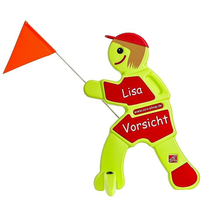 Warnfigur spielende Kinder - Lisa Langsam UvV Warnfigur Kinder