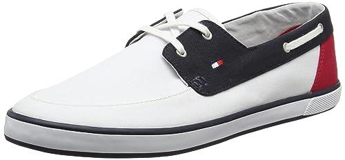 Tommy Hilfiger H2285arlow 4d, Botines para Hombre, Blanco (White), 40 EU: Amazon.es: Zapatos y complementos