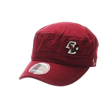 78558126 ZHATS NCAA Boston College Eagles Adult Women Women's Cadet Hat, Adjustable,  Team Color
