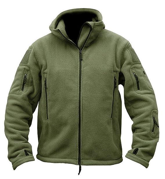 Amazon.com: Ting room - Chaqueta térmica con capucha y forro ...