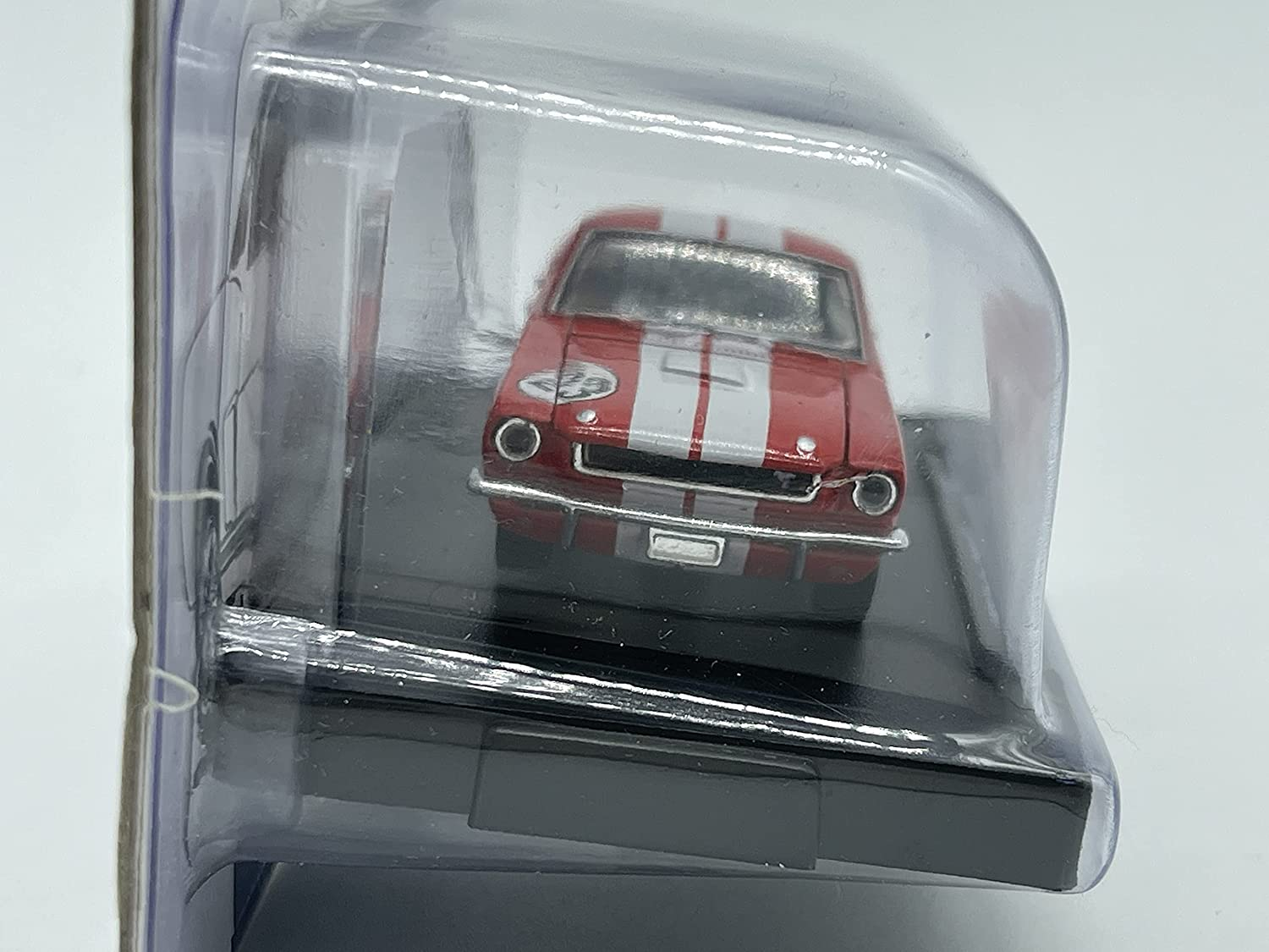 M2 Machines by M2 Collectible 1966 Shelby GT350 Target Exclusive 1:64 Scale TGS01 15-31 Red//White Details Like NO Other!