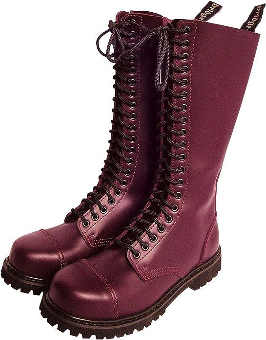 20 foro Rangers Stivali stivali con puntale in acciaio