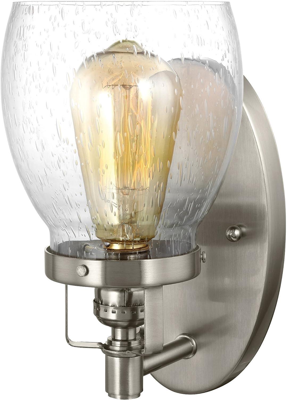 Sea Gull Lighting 4414503-962 Belton Three Light Wall//Bath Vanity Style Lights Brushed Nickel Finish