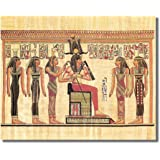Egyptian Hieroglyphics I Kids Room Contemporary Wall Picture Art Print