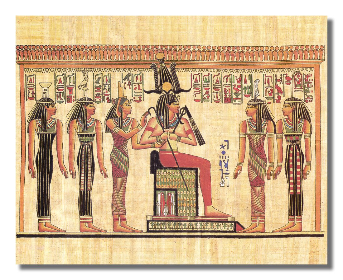Amazon.com: Egyptian Hieroglyphics I Kids Room Contemporary Wall Picture Art  Print: Egyptian Decor: Posters U0026 Prints