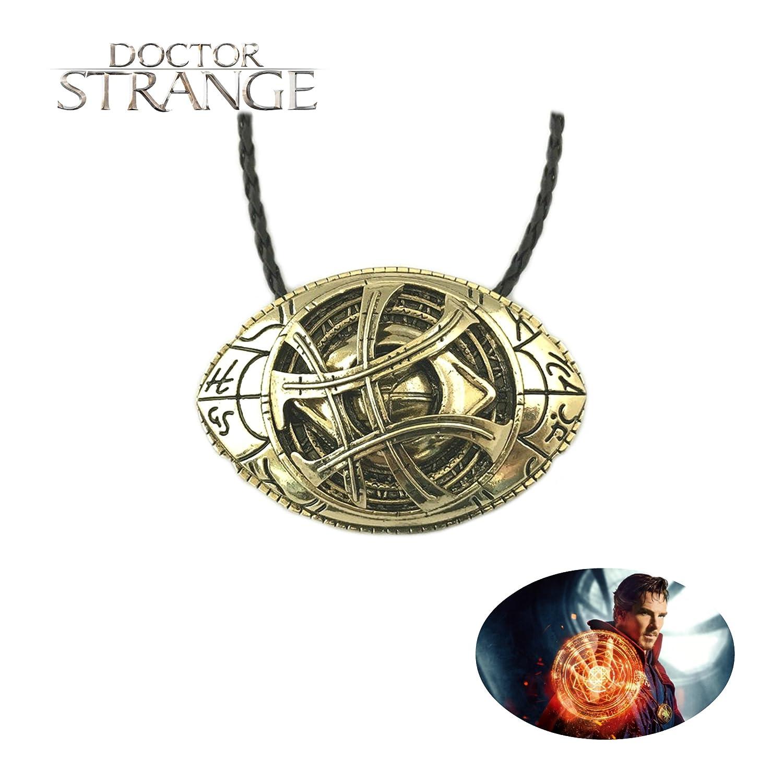 Amazon Doctor Strange Eye Of Agamotto Necklace Pendant Marvel