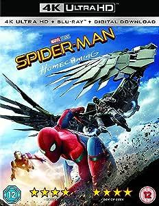 Spider-Man Homecoming [4K UHD + Blu-ray + Comic]