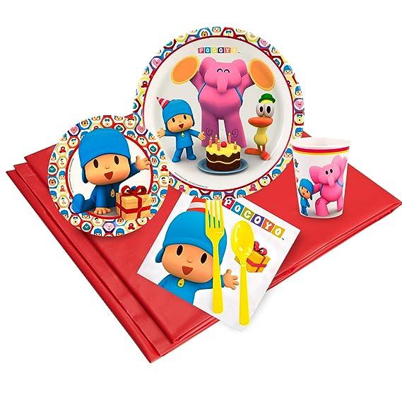 Birthday Express Pocoyo Party Supplies - Pack de 8 ...