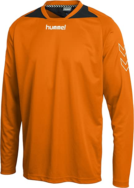 long-sleeved polyester Hummel jersey for boys