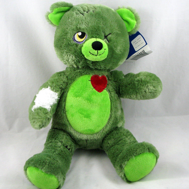 Build A Bear Halloween 2020 Amazon.com: Build a Bear Zombear Teddy Green Halloween 16 in
