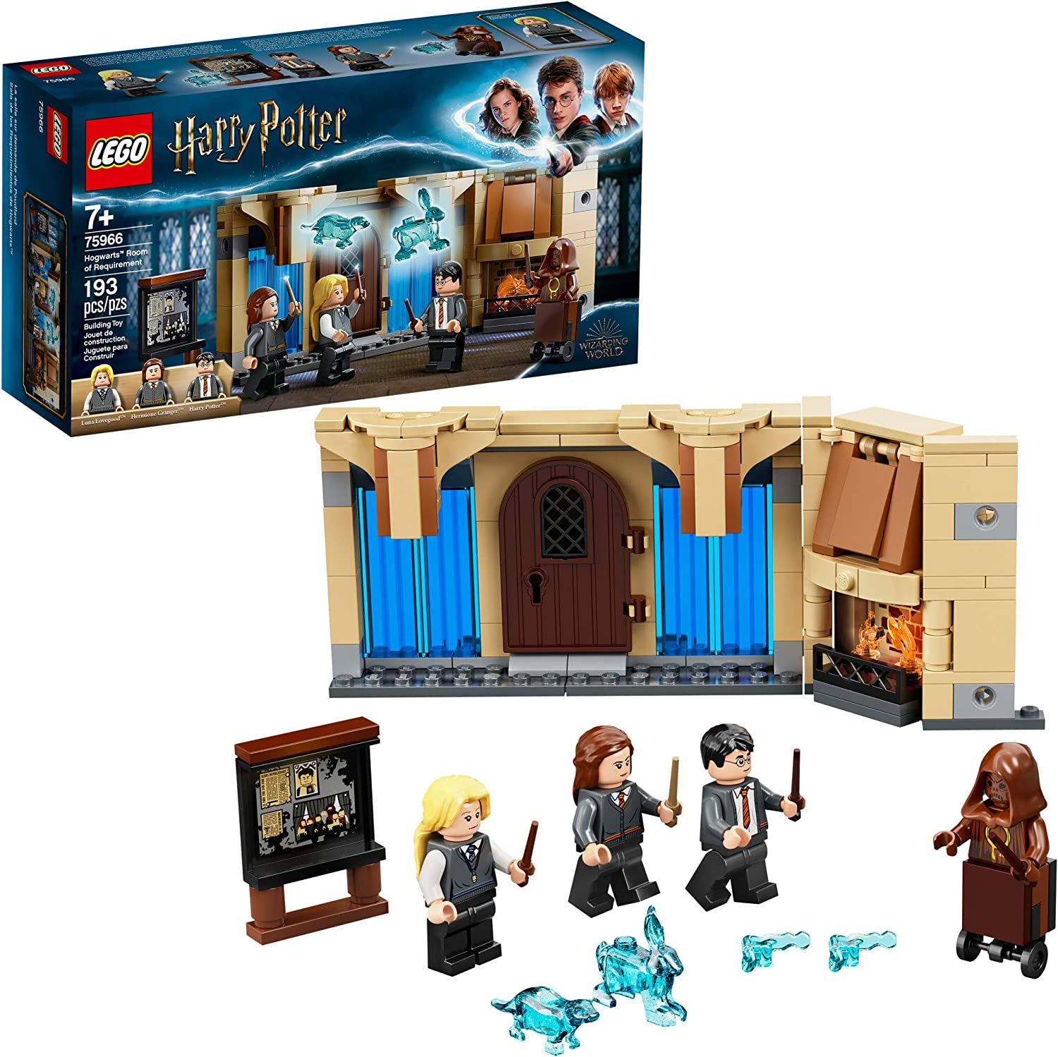Lego Harry Potter Hogwarts Room Of Requirement 75966 Dumbledore S Army Gift Idea From Harry Potter And The Order Of The Phoenix New 2020 193 Pieces Toys Games