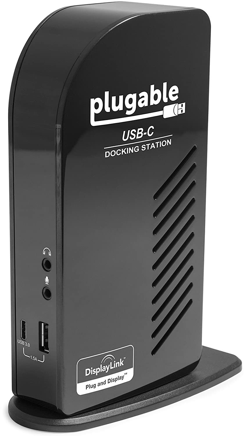 Plugable USB-C Triple Display Docking Station with Charging Support Power  Delivery for Specific Windows USB Type-C and Thunderbolt 3 Systems (2x HDMI