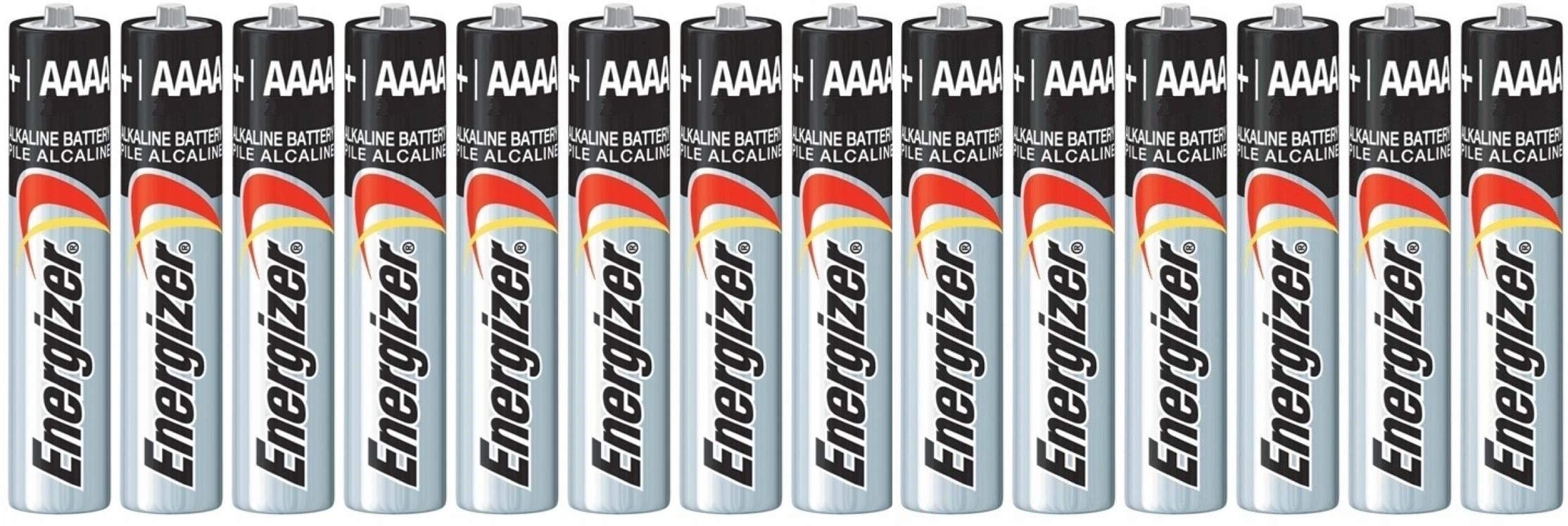 14 Pack of Energizer AAAA Alkaline Batteries. Fits Streamlight Flashlights